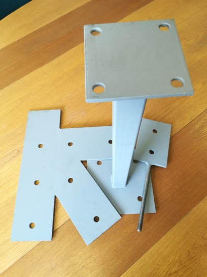 Any bracket can be made bespoke for your project. Eagledale can manufacture brackets from a sketch or template.
