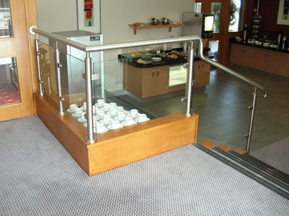 Stainless Steel & Glass Balustrades