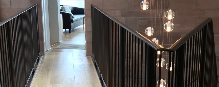 Eagledale architectural metalwork in Coventry, West Midlands supply and manufacture steel balustrades and handrails.
