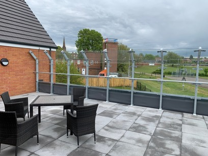 Roof Terrace Balustrades